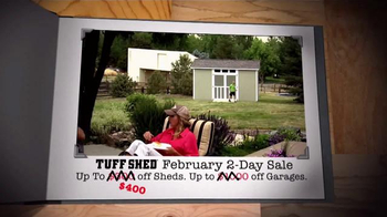 Tuff Shed Two Day Sale TV Spot, 'Get a Jump on Spring' - Thumbnail 5
