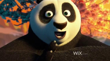 Wix.com TV Spot, 'Kung Fu Panda Masters the Power of Wix' - Thumbnail 1