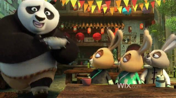 Wix.com TV Spot, 'Kung Fu Panda Masters the Power of Wix' - Thumbnail 2
