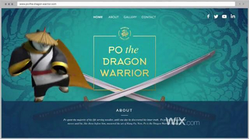 Wix.com TV Spot, 'Kung Fu Panda Masters the Power of Wix' - Thumbnail 6