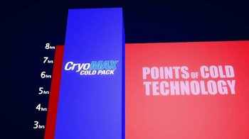 CryoMAX Cold Pack TV Spot, 'Points of Cold Technology' - Thumbnail 2