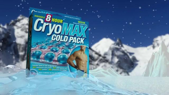 CryoMAX Cold Pack TV Spot, 'Points of Cold Technology' - Thumbnail 4