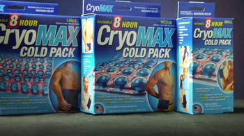 CryoMAX Cold Pack TV Spot, 'Points of Cold Technology' - Thumbnail 5