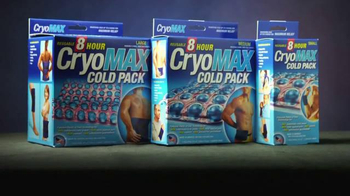 CryoMAX Cold Pack TV Spot, 'Points of Cold Technology' - Thumbnail 6