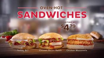 Dairy Queen Bakes! TV Spot, 'Oven-Hot Sandwiches' - Thumbnail 8