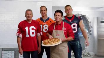 Papa John's TV Spot, 'After Super Bowl 50' Feat. Peyton Manning, J. J. Watt - Thumbnail 9