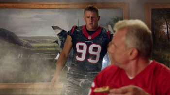 Papa John's TV Spot, 'After Super Bowl 50' Feat. Peyton Manning, J. J. Watt - Thumbnail 4