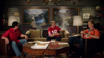 Papa John\'s TV Spot, \'After Super Bowl 50\' Feat. Peyton Manning, J. J. Watt