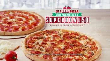 Papa John's TV Spot, 'After Super Bowl 50' Feat. Peyton Manning, J. J. Watt - Thumbnail 8