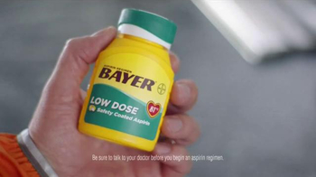 Bayer Low Dose TV Spot, 'A Heart Attack Doesn't Care' - Thumbnail 4
