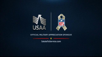 USAA TV Spot, 'Salute to Service: Jackson and McAfee' - Thumbnail 8