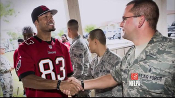 USAA TV Spot, 'Salute to Service: Jackson and McAfee' - 1 commercial airings