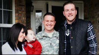 USAA TV Spot, 'Salute to Service: Jackson and McAfee' - Thumbnail 5