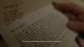 Fidelity Investments TV Spot, 'Letters' - Thumbnail 3