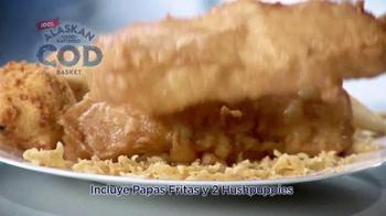 Long John Silver's Alaskan Cod Basket TV Spot, 'Bacalao' [Spanish] - Thumbnail 6