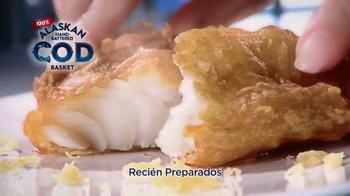 Long John Silver's Alaskan Cod Basket TV Spot, 'Bacalao' [Spanish] - Thumbnail 7