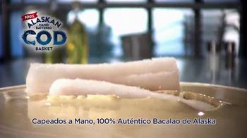 Long John Silver's Alaskan Cod Basket TV Spot, 'Bacalao' [Spanish] - Thumbnail 8