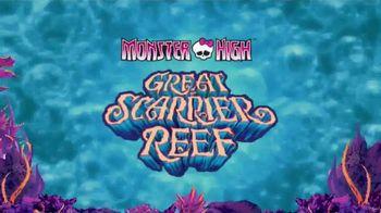 Monster High Great Scarrier Reef Dolls TV Spot, 'Glow in the Dark'