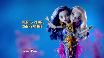 Monster High Great Scarrier Reef Dolls TV Spot, 'Glow in the Dark' - Thumbnail 2