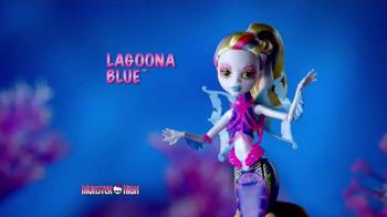 Monster High Great Scarrier Reef Dolls TV Spot, 'Glow in the Dark' - Thumbnail 3