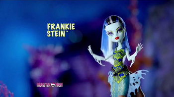 Monster High Great Scarrier Reef Dolls TV Spot, 'Glow in the Dark' - Thumbnail 4