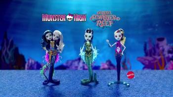 Monster High Great Scarrier Reef Dolls TV Spot, 'Glow in the Dark' - Thumbnail 6