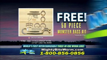 Mighty Bite Worm TV Spot, 'Change Worm Fishing Forever' - Thumbnail 8