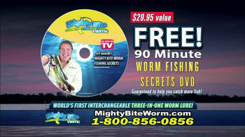 Mighty Bite Worm TV Spot, 'Change Worm Fishing Forever' - Thumbnail 7