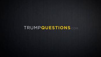 Our Principles PAC TV Spot, 'Questions' - Thumbnail 1