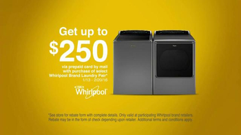 Whirlpool Cabrio TV Spot, 'What/How' - Thumbnail 4