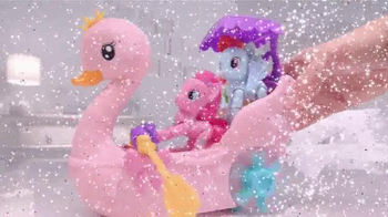 My Little Pony Explore Equestria TV Spot, 'Pinkie Pie Row & Ride Swan Boat' - Thumbnail 6