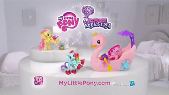 My Little Pony Explore Equestria TV Spot, 'Pinkie Pie Row & Ride Swan Boat' - Thumbnail 7
