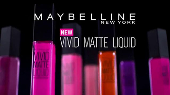 Maybelline New York Vivid Matte Liquid TV Spot, 'Colorful' Ft. Gigi Hadid - Thumbnail 3