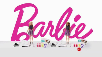 Barbie Mix 'N Color TV Spot, 'So Many Styles' - Thumbnail 8