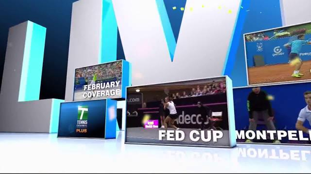 Tennis Channel Plus TV Commercial, 'February 2016: Qatar Total Open'