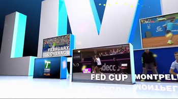 Tennis Channel Plus TV Spot, 'February 2016: Qatar Total Open'