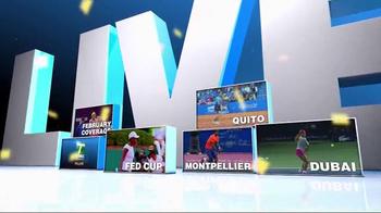 Tennis Channel Plus TV Spot, 'February 2016: Qatar Total Open' - Thumbnail 4
