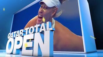 Tennis Channel Plus TV Spot, 'February 2016: Qatar Total Open' - Thumbnail 5