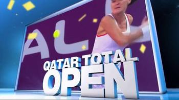 Tennis Channel Plus TV Spot, 'February 2016: Qatar Total Open' - Thumbnail 6