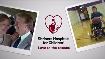 Shriners Hospitals for Children TV Spot, 'Former President Jimmy Carter' - Thumbnail 5