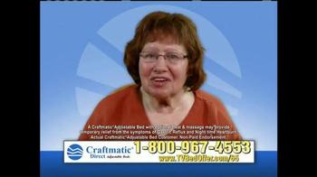 Craftmatic Adjustable Bed TV Spot, 'Testimonials' - Thumbnail 1