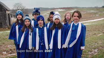NFL Super Bowl 2016 TV Spot, 'Super Bowl Babies Choir' Feat. Seal - Thumbnail 3