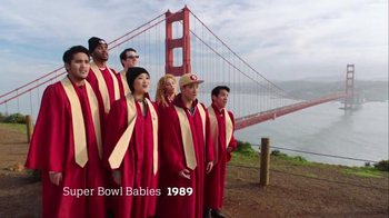 NFL Super Bowl 2016 TV Spot, 'Super Bowl Babies Choir' Feat. Seal - Thumbnail 4
