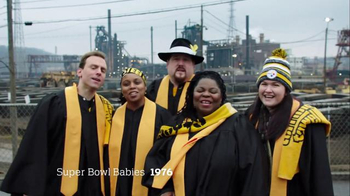 NFL Super Bowl 2016 TV Spot, 'Super Bowl Babies Choir' Feat. Seal - Thumbnail 6