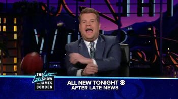 The Late Late Show Super Bowl 2016 TV Promo, 'Catch' - Thumbnail 3