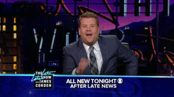 The Late Late Show Super Bowl 2016 TV Promo, 'Catch' - Thumbnail 5