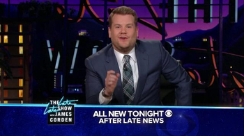 The Late Late Show Super Bowl 2016 TV Promo, 'Catch' - Thumbnail 6