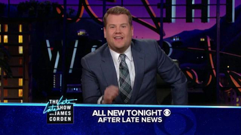The Late Late Show Super Bowl 2016 TV Promo, 'Catch' - Thumbnail 7