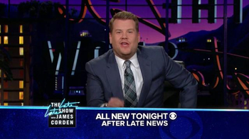 The Late Late Show Super Bowl 2016 TV Promo, 'Catch' - Thumbnail 8