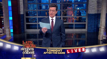 The Late Show Super Bowl 2016 TV Promo - Thumbnail 10